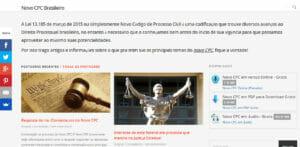 Novidades do Processo Civil Brasileiro com o Novo CPC